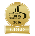 International Spirits Challenge 2016 - Gold