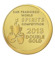 San Francisco World Spirits Competition 2013 - Double Gold
