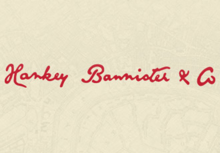 Hankey Bannister and Co. Signature/Logo